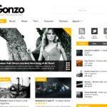 WordPressのテーマ 'GONZO' を使ってみた。